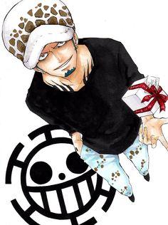 One Piece - Trafalgar Law Anime One Piece, One Piece Fanart, One Piece Luffy, Anime Echii, Anime Love, Anime Art, Trafalgar Law, Roronoa Zoro, Girls Anime