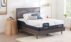 "Serta iComfort® CF3000 Hybrid Medium 13"" Mattresses | The Dump Luxe Furniture Outlet Luxury Furniture Brands, Furniture Outlet, Made In America, Mattresses, California King, Carbon Fiber, Memory Foam, Medium, Bed"