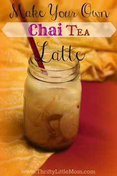 You don't have to pay $4 for a Chai Latte at the coffee shop. Make them from home using the exact same ingredients as the coffee shops for a fraction of the cost! Picture instructions included.