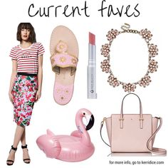 Current Faves! (in pink!)