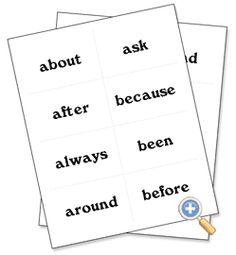 Create a worksheet: Develop sight-reading skills with the Dolch list of words Dolch List, Reading Skills, Vocabulary, Classroom Ideas, Literacy, Worksheets, Homeschool, Games, Words