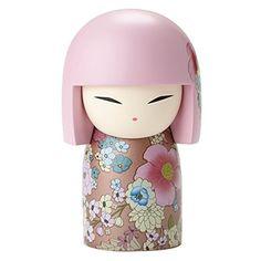Newly designed Kokeshi Doll Very beautiful wood doll *** smiling tenderly