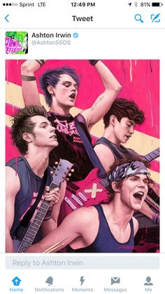 Ok, this is awesome artwork and all but calum has beautiful brown skin and this drawing looks slightly whitewashed