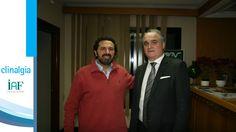 Dr. Fco. Javier Hidalgo con Antonio Mingorance.