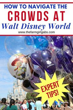 As big as Disney World is, it's no surprise that it still gets very crowded. Here are some simple ways on How to Avoid the Crowds At Walt Disney World Disney World Packing, Disney World Secrets, Disney Vacation Planning, Disney World Parks, Walt Disney World Vacations, Disney World Tips And Tricks, Disney Tips, Disney Travel, Disney Magic