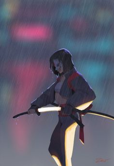 A superb samurai, she uses her deadly sword, The Soultaker, to fight evil around the world. The mystic sword contains the soul of every person killed by it and Katana can communicate with those souls. She is currently a member of the Suicide Squad. Comic Books Art, Comic Art, Comic Character, Character Design, Dc Comics Art, Dc Heroes, Marvel Dc, Graphic Art, Rage