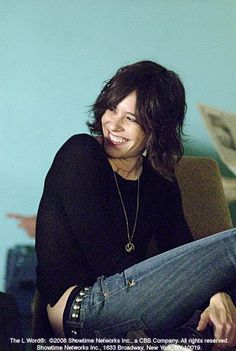 Kate Moennig, she was on the L Word but she was also in the movie Gone. it was good.