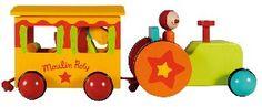 Moulin Roty Tracteur Dragobert chez Doudouplanet.com - 21800