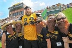 The Beard at Steelers Training Camp. Football is upon us.