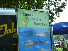 PT EAGLE ISLAND STATE PARK, EAGLE IDAHO, PARKS AND RECREATION DAY. COLD WATER FISH OF IDAHO.