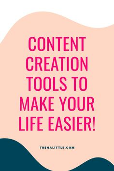 There are so many content creation tools to make your life easier. Content marketing can feel intense and difficult to manage! In this video, we're going to be talking about the best tools for content creation. Not only will you be better equipped for your content planning but you'll be able to really make the most of your content by getting to use it for your social media content and more!