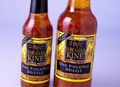 Hawaiian Kine Ono Pineapple Drizzle makes the best shrimp marinade in the world! Dump over some shrimp, let it sit for a few hours or overnight, then skewer and grill -- YUMMMMM Ono Kine Recipes, Shrimp Marinade, Dipping Sauces, Shrimp Recipes, Skewers, Dressings, Whiskey Bottle, Hawaiian, Nom Nom