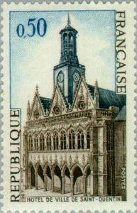 Saint Quentin. The City Hall