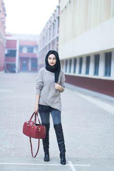 Filter Fashion: Hijab Fashion & Indian Style Blog: Winter Love