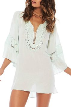 82ea8ba6b1 L SPACE Breakaway Coverup - Main Image Summer Cover Up, L Space, Eyelet Lace