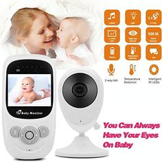 Pistachio - Supports 2 Cameras and Up Pet Night Vision Lollipop HD WiFi Video IP Indoor Camera for Baby Compatible with iOS /& Android Home Security 2-Way Talk Back- Baby Boy Girl Shower Gifts