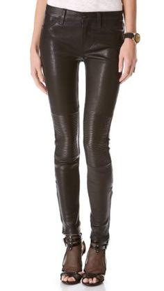 J Brand Nicola Leather Moto Pants | SHOPBOP