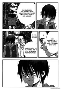 Btooom chapter 8 page 3 re direction of fear