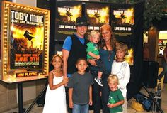 @Selma Amadu This is the Christian artist, Toby Mac and his family. His wife is Jamaican with cute little Jamerican children :)