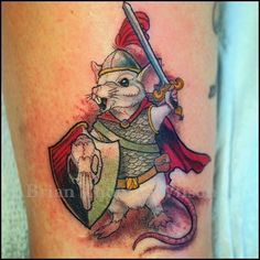 Most popular tags for this image include: mouse, rat, warrior, tattoo and…