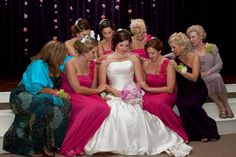 All the women in my family prayed over me before the wedding <3