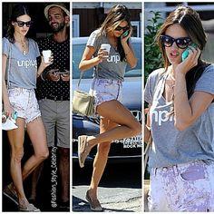 #AlessandraAmbrosio #alebyalessandra #shorts #tshirt #casuals #fashion #style #look #ootd #omg #vs #angel #model #cute #baby #brunette #skinnyjeans #jeans #denim #flats #superchic #chic #supermodel #shades #sunglasses #celebrity #victoriassecretangel #victoriassecret... - Celebrity Fashion