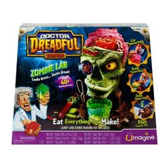 Doctor Dreadful Zombie Lab, the kids and I are so going to get this and make and eat gross stuff!