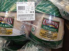 Coleman organic whole chicken costco 1 costco for Costco raw dog food