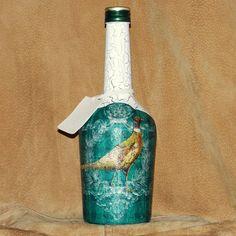 Fľaša pre poľovníka Bažanty