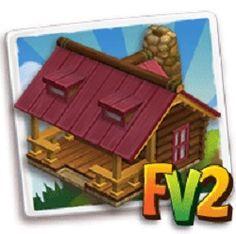 L'Oasi nel Deserto: Trucco Farmville2 : Capanna di legno rosa (economi...