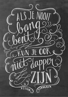 Lettering by Valerie McKeehan - Video Angst Quotes, Words Quotes, Wise Words, Me Quotes, Sayings, Dutch Quotes, Beautiful Words, Cool Words, Inspirational Quotes