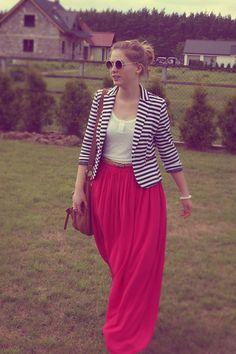 Maxi faldas y vestidos