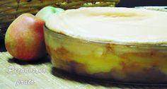 Delicia de maçã e merengue