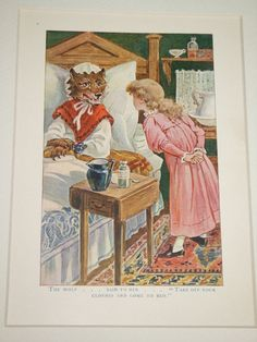 Shop for corbels on Etsy, the place to express your creativity through the buying and selling of handmade and vintage goods. Fairytale Art, Forest Fairy, Red Riding Hood, Book Illustration, Little Red, Happily Ever After, Fairy Tales, Decorating, Creative