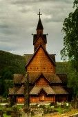The Historic Heddal Stavechurch In Notodden, Telemark. Royalty Free Stock Photo, Pictures, Images And Stock Photography. Image 14956266.