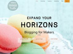 Introducing Handmade Tickle...beta memberships now available! #blogging
