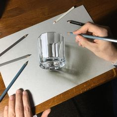 "9,954 Likes, 113 Comments - Marcello Barenghi (@marcellobarenghi) on Instagram: ""My drawing of a glass Drawing video: http://www.marcellobarenghi.com/2016/05/drawing-of-glass.html…"""