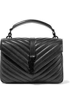 99f451384ca4 Saint Laurent - College medium quilted leather shoulder bag