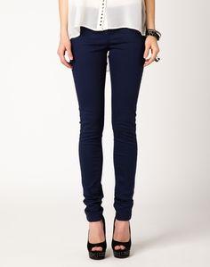 Skinny, Coloured Tube Leg Jeans