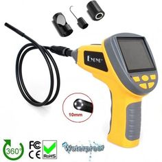 "81.99$  Buy now - http://alisiq.worldwells.pw/go.php?t=32703909038 - ""Free shipping!EYOYO 8.5mm Dia 3.5""""TFT LCD Inspection Endoscope Tube+Magnet/Hook/Mirror Car Diagnostic Tools"" 81.99$"