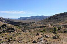 Landspace, desert, mountain
