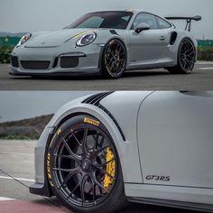 Porsche gt3 rs on p zero's