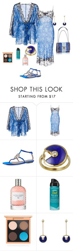 """""""getting ready"""" by alaa88 ❤ liked on Polyvore featuring Morgan Lane, Gucci, Cartier, Bottega Veneta, Bumble and bumble and MAC Cosmetics"""