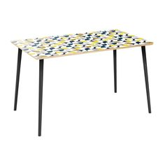 NyeKoncept Brixton Modern Petals Flare 48 in. Dining Table