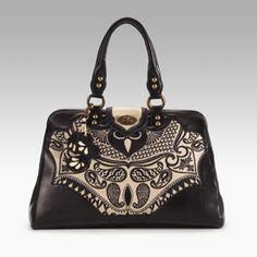 Isabella Fiore Lavish Lace Kelsey Frame Bag