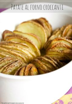 patate al forno croccanti con la buccia