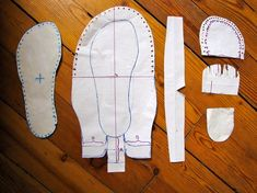 diy moccasins for women | Free Leather Moccasin Patterns