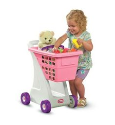 Little Tikes Shopping Cart - Pink by Little Tikes - Dropship. $26.99. From the Manufacturer                Modern shopping cart will help little shoppers mimic trips to the grocery store                                    Product Description                615344 Features: -Sturdy walls keep small items in.-A deep basket and storage underneath provide plenty of space for all of a child's favorite things (Accessories not included).-Ages: 2 and up. Dimensions: -Overall Dimensio...