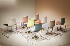 Catifa 45 in new colors at Arper's MIlano booth 2016