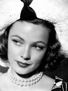 Great actress and Beauty, Gene Tierney